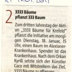 Rheinische Post 17.01.2011